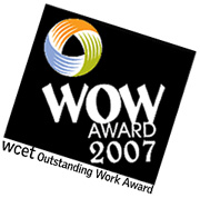2007 WCET WOW Award Winner